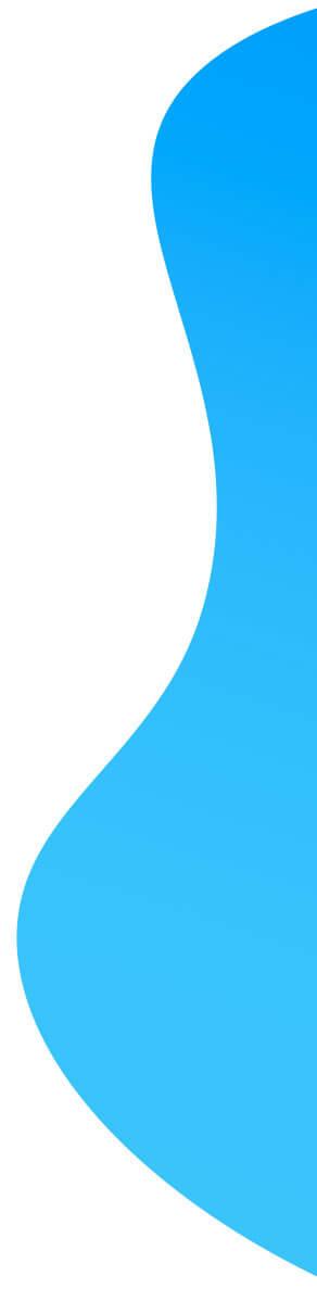 Imagem de curvas grandes na cor azul
