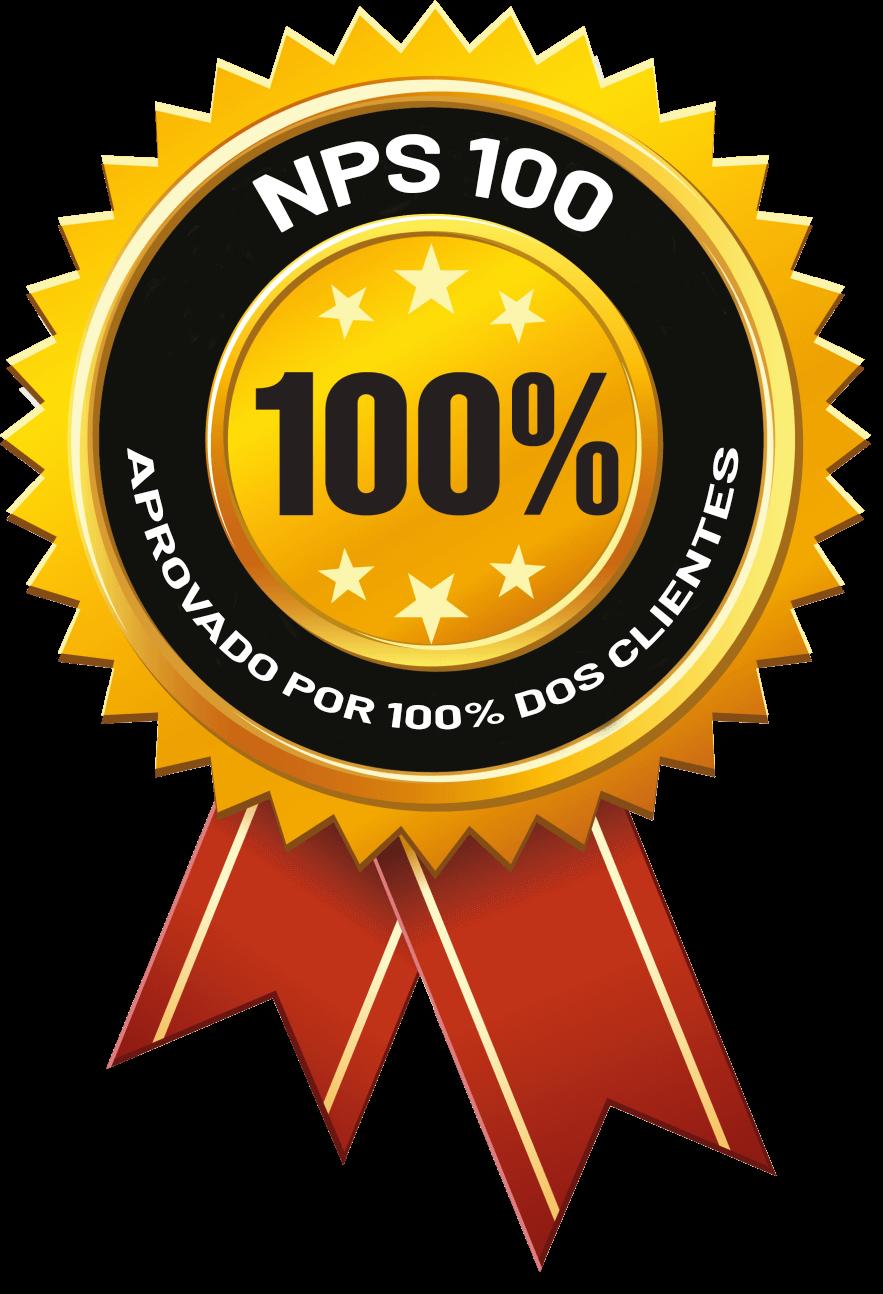 Badge do NPS 100